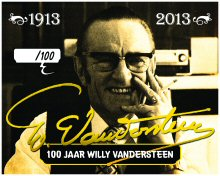 Label 100 jaar Willy Vandersteen