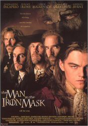 Affiche voor 'The man in the iron mask'