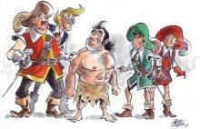 schrijver drie musketiers