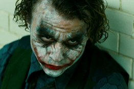 Heath Ledger als 'The Joker'